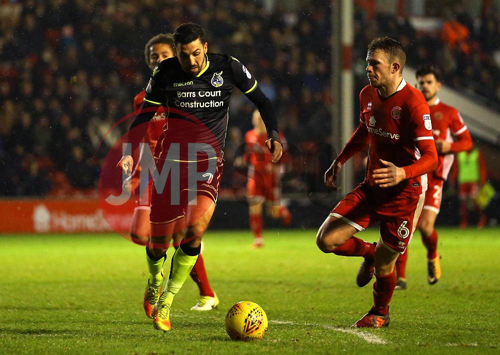 Liam Sercombe of Bristol Rovers runs with the ball - Mandatory by-line: Robbie Stephenson/JMP - 26/12/2017 - FOOTBALL - Banks's Stadium - Walsall, England - Walsall v Bristol Rovers - Sky Bet League One