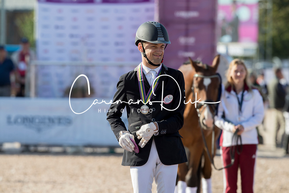 Snikus Richards, LAT, King Of The Dance<br /> FEI European Para Dressage Championships - Goteborg 2017 <br /> © Hippo Foto - Dirk Caremans