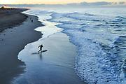 Skim Boarding in Huntington Beach