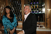 Martine McCutcheon and Terry Venables, The launch of Gilt, a new champagne lounge in the Jumeira Carlton Tower Hotel. Sloane st. London. 17 October 2006. -DO NOT ARCHIVE-© Copyright Photograph by Dafydd Jones 66 Stockwell Park Rd. London SW9 0DA Tel 020 7733 0108 www.dafjones.com