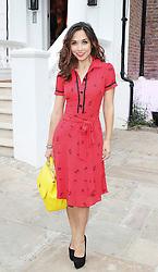 © Licensed to London News Pictures. Myleene Klass, ITV Summer Reception, Chepstow Villas, London UK, 17 July 2013. Photo by Brett Cove/LNP