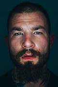 Marc Entenberg of New York poses for a portrait at Jackson Wink MMA in Albuquerque, New Mexico on June 10, 2016.