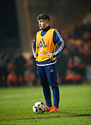 Scotland's Cammy Ballantyne - Scotland under 21s v Estonia international challenge match at St Mirren Park, St Mirren. Pic David Young<br />  <br /> - &copy; David Young - www.davidyoungphoto.co.uk - email: davidyoungphoto@gmail.com