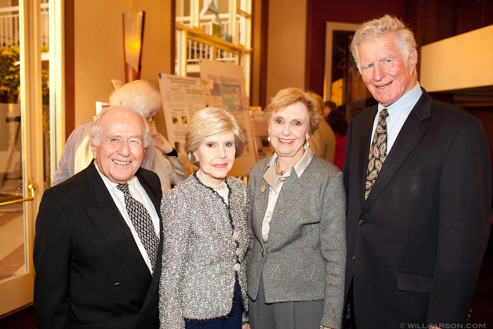 Donald and Kay Stone, and Barbara and Bill McColl.