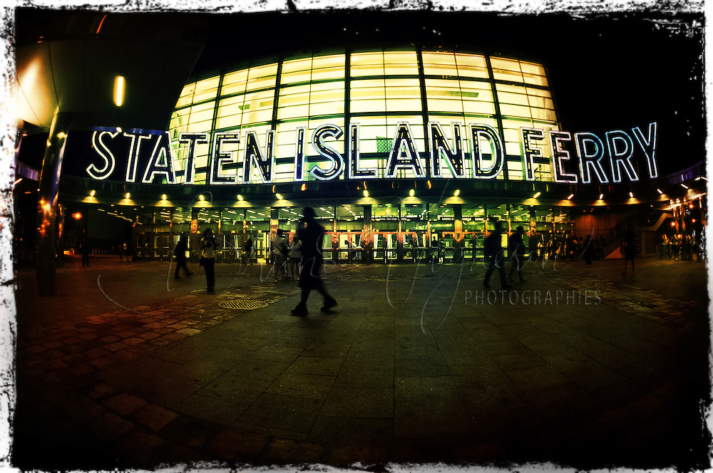New-York City, Staten Island Ferry.<br />