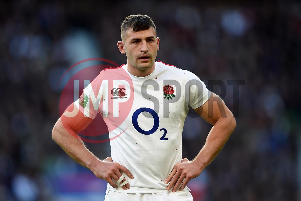 Jonny May of England - Mandatory byline: Patrick Khachfe/JMP - 07966 386802 - 03/11/2018 - RUGBY UNION - Twickenham Stadium - London, England - England v South Africa - Quilter International