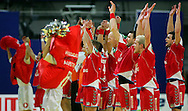 GEPA-26011050091 - INNSBRUCK,AUSTRIA,26.JAN.10 - SPORT DIVERS, HANDBALL - EHF Europameisterschaft, EURO 2010, Laenderspiel, Polen vs Tschechien. Bild zeigt den Jubel von Polen. Foto: GEPA pictures/ Thomas Bachun.FOT. GEPA / WROFOTO.*** POLAND ONLY !!! ***