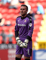 Rotherham United goalkeeper Lee Camp