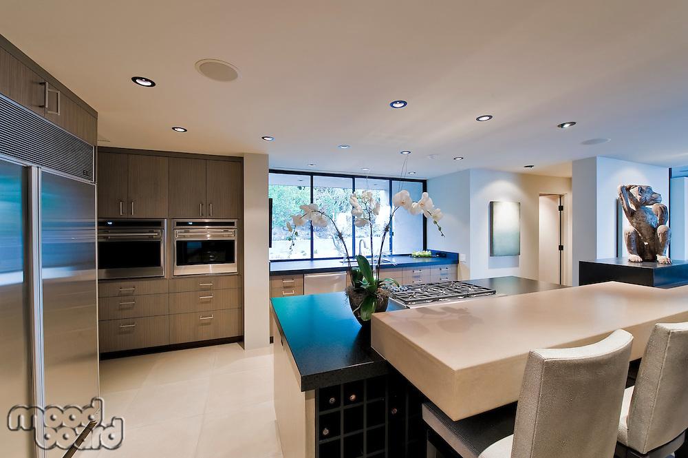Modern domestic kitchen