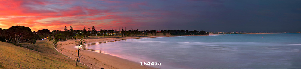 Torquay Front Beach sunset