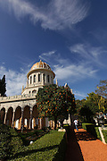 Israel, Haifa, the Bahai temple