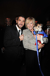 SHAYNE WARD and CLAIRE HORTON CEO of Battersea Dogs & Cats Home at the Collars & Coats Gala Ball celebrating 150 years of Battersea Dogs & Cats Home held at Battersea Power Station, London on 25th November 2010.