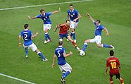 Fussball EURO 2012: Spanien - Italien