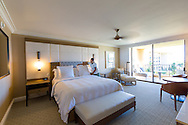 One of the rooms at the Four Seasons Resort Maui, Wailea, Maui, Hawaii, USA