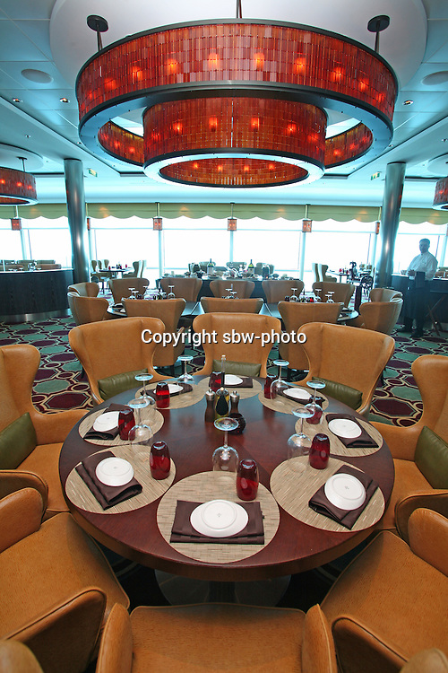 Celebrity Eclipse interior photos..Tuscan Grill restaurant