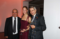 Left to right, PHILIP GREEN, LADY GABRIELLA WINDSOR and STUART ROSE at a party to celebrate the 90th birthday of Vogue magazine held at The Serpentine Gallery, Kensington Gardens, London on 8th November 2006.<br /><br />NON EXCLUSIVE - WORLD RIGHTS