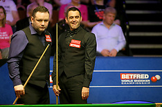 2018 Betfred Snooker World Championships - Day Two - 22 April 2018