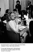 Suzannah Starkey at the Rose Ball. Grosvenor House. London. 19 May 1988. Film. 88389f20.<br />© Copyright Photograph by Dafydd Jones. 66 Stockwell Park Rd. London SW9 0DA. Tel 0171 733 0108