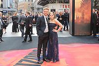 Boyd Holbrook; Elizabeth Olsen, Godzilla - European Film Premiere, Odeon Leicester Square, London UK, 11 may 2014, Photo by Richard Goldschmidt