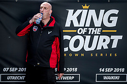 07-09-2018 NED: King of the Court, Utrecht<br /> 5 teams play in 3 rounds for the title 'King of the Court / Security around centercourt