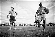 A Sikh Kabaddi tournament at the Gurudwara Sahib in Takanini, Auckland.