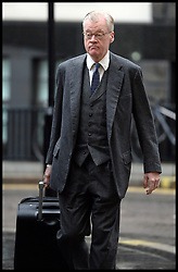 Andrew Edis, prosecuting,in the Phone Hacking Trial arrives at the The Old Bailey, London, United Kingdom, for the Phone Hacking Trial.  Thursday, 31st October 2013. Picture by Andrew Parsons / i-Images