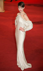 © licensed to London News Pictures. London, UK 05/12/2012. Anne Hathaway attending World Premiere of Les Miserables in Leicester Square, London. Photo credit: Tolga Akmen/LNP