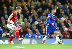 May 8, 2017 - Chelsea, Greater London, United Kingdom - Chelsea's Eden Hazard.during Premier League match between Chelsea and Middlesbrough at Stamford Bridge, London, England on 08 May 2017. (Credit Image: © Kieran Galvin/NurPhoto via ZUMA Press)