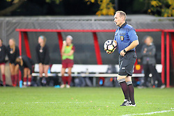 04 November 2016:  Doug Wolff during an NCAA Missouri Valley Conference (MVC) Championship series women's semi-final soccer game between the Loyola Ramblers and the Evansville Purple Aces on Adelaide Street Field in Normal IL