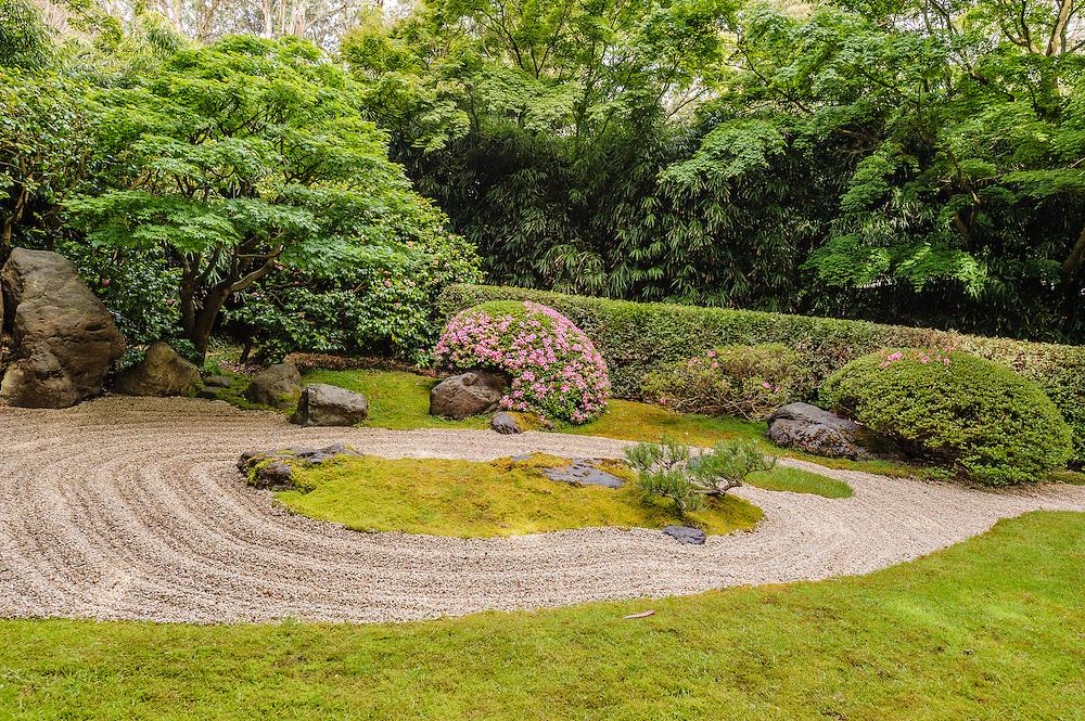 Japanese Tea Garden in San Francisco, California, in Golden Gate Park