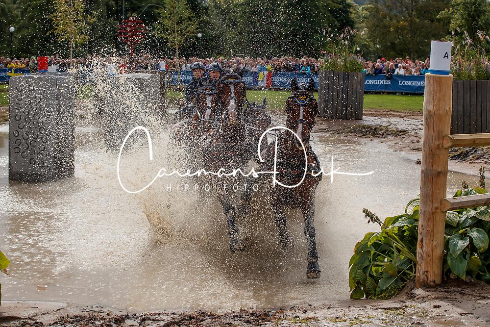 Olin Axel, SWE, Amigo, Bolero 362, Pamino 73, Revolt, Wittstein 2<br /> FEI European Driving Championships - Goteborg 2017 <br /> &copy; Hippo Foto - Dirk Caremans<br /> 26/08/2017,