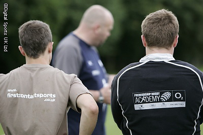 London wasps Residential CoachClass at Winchester Army Camp..Action Pictures