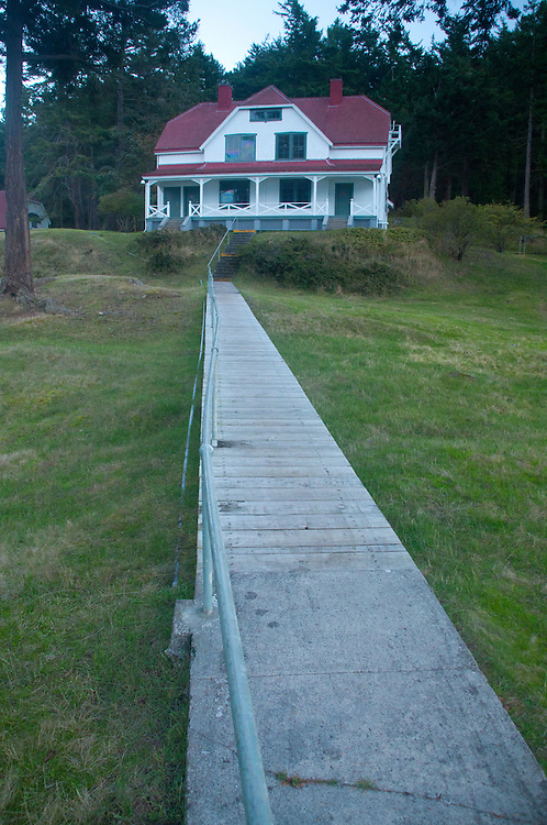 Lighthouse Keepers' House, Stuart Island, Washington, US