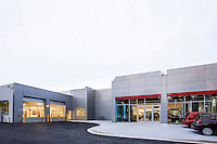 Architectural Exterior image of Maryland Toyota Dealership R & H in Owings Mills
