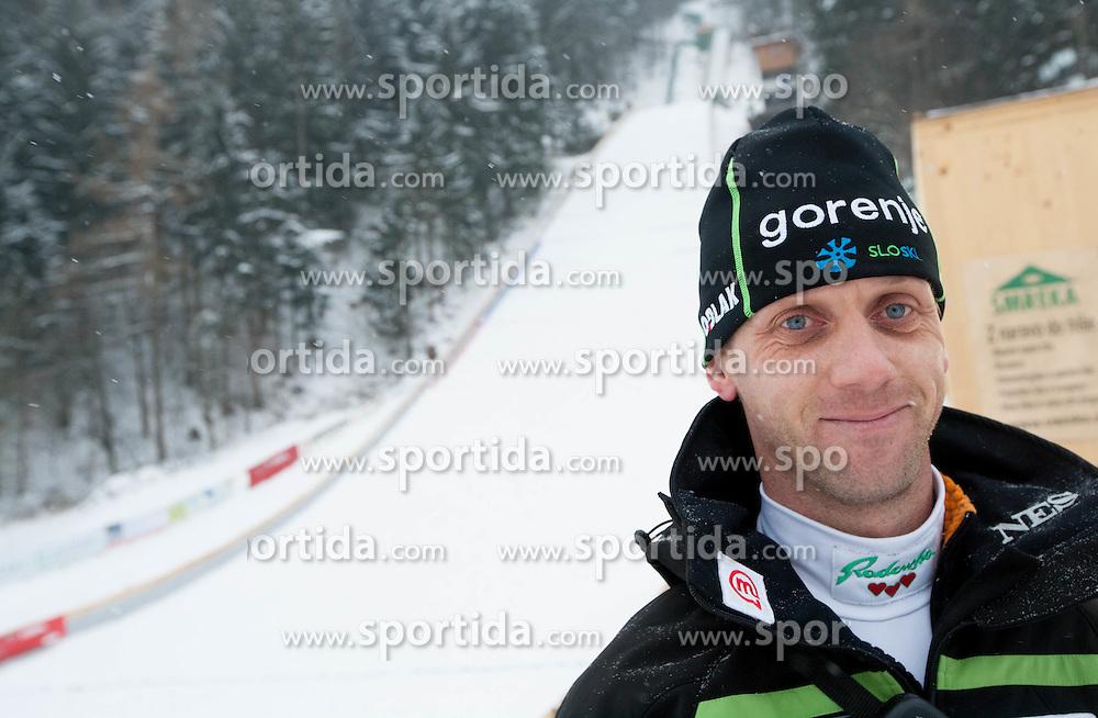 Matjaz Triplat, head coach of Slovenia during Normal Hill Individual Competition at FIS World Cup Ski jumping Ladies Ljubno 2012, on February 12, 2012 in Ljubno ob Savinji, Slovenia. (Photo By Vid Ponikvar / Sportida.com)