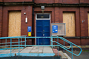 A boarded up and closed down police station, Whitley Bay,  Northumberland. UK. <br /> (photo by Andrew Aitchison / In pictures via Getty Images)