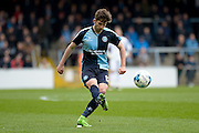 Wycombe Wanderers midfielder Max Kretzchmar (17) during the Sky Bet League 2 match between Wycombe Wanderers and Barnet at Adams Park, High Wycombe, England on 16 April 2016. Photo by Dennis Goodwin.