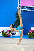 Kaho Minagawa was born 20 August 1997 in Chiba Prefecture, Japan is a Japanese individual rhythmic gymnast.
