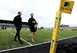 Worcester Warriors arrive at Kingston Park for their Aviva Premiership Fixture with Newcastle Falcons - Mandatory by-line: Robbie Stephenson/JMP - 28/04/2017 - RUGBY - Kingston Park - Newcastle upon Tyne, England - Newcastle Falcons v Worcester Warriors - Aviva Premiership