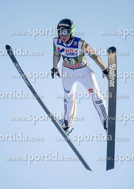 03.01.2017, Bergiselschanze, Innsbruck, AUT, FIS Weltcup Ski Sprung, Vierschanzentournee, Innsbruck, Qualifikation, im Bild Cene Prevc (SLO) // Cene Prevc of Slovenia during his Qualification Jump for the Four Hills Tournament of FIS Ski Jumping World Cup at the Bergiselschanze in Innsbruck, Austria on 2017/01/03. EXPA Pictures © 2017, PhotoCredit: EXPA/ Jakob Gruber