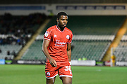 Bez Lubala (30) of Crawley Town during the EFL Sky Bet League 2 match between Plymouth Argyle and Crawley Town at Home Park, Plymouth, England on 28 January 2020.