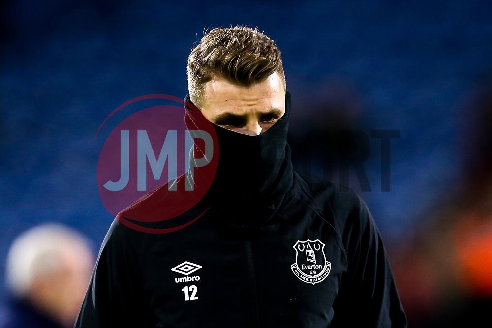 Lucas Digne of Everton wraps up - Mandatory by-line: Robbie Stephenson/JMP - 29/01/2019 - FOOTBALL - The John Smith's Stadium - Huddersfield, England - Huddersfield Town v Everton - Premier League