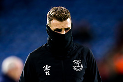 Lucas Digne of Everton wraps up - Mandatory by-line: Robbie Stephenson/JMP - 29/01/2019 - FOOTBALL - The John Smith's Stadium - Huddersfield, England - Huddersfield Town v Everton - Premier League