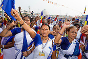 Mass conversion to buddhism from Buddhism in Nagpur, Maharashtra, India<br /> <br /> Photo by Christina Sjögren