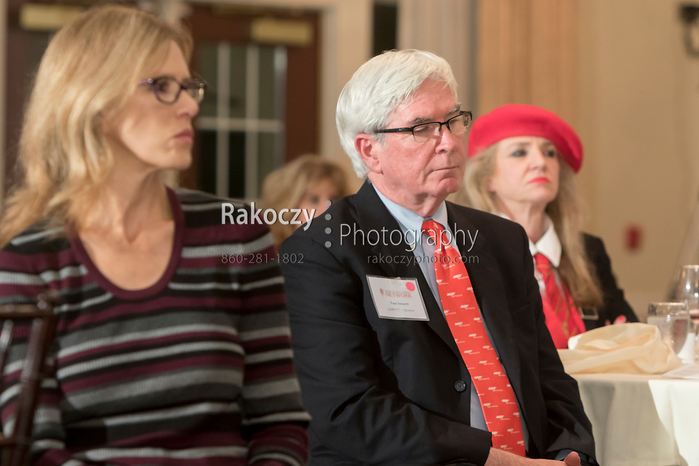 Attendees at a panel discussion on The Future of Healthcare presented by the Senior Executive Women's Network (SEWN), held at The North House in Avon, CT.