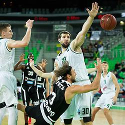 20151014: SLO, Basketball - EuroCup 2015/16, KK Union Olimpija Ljubljana vs Dolomiti Energia Trento