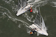 SAP 505 Worlds 2009 in San Francisco Bay, Berkeley Circle