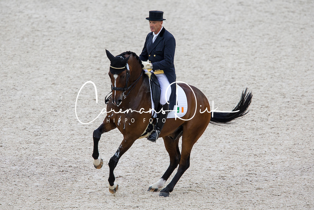 James Connor, (IRL), Casino Royal - Grand Prix Team Competition Dressage - Alltech FEI World Equestrian Games™ 2014 - Normandy, France.<br /> © Hippo Foto Team - Leanjo de Koster<br /> 25/06/14