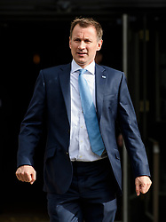 © Licensed to London News Pictures. 03/10/2017. Manchester, UK. Health secretary JEREMY HUNT seen on day three of the Conservative Party Conference. The four day event is expected to focus heavily on Brexit, with the British prime minister hoping to dampen rumours of a leadership challenge. Photo credit: Ben Cawthra/LNP