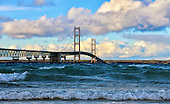 Mackinac Bridge and Mackinac Island